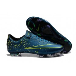 New Shoes - Nike Mercurial Vapor 10 FG Footballl Shoes Squadron Blue Black Volt