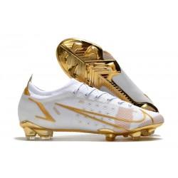 Nike Mercurial Vapor XIV Elite FG White Gold