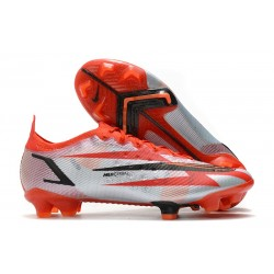 Nike Mercurial Vapor XIV Elite FG Chile Red Black White Total Orange