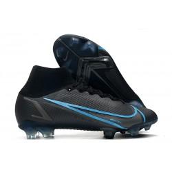 Nike Mercurial Superfly VIII Elite DF FG Black Iron Grey
