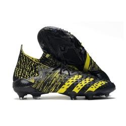 adidas Predator Freak.1 FG Cleat Black Yellow