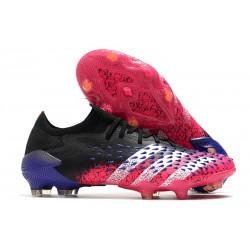 adidas Predator Freak.1 Low Cut FG Core Black White Shock Pink