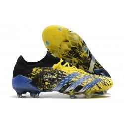 adidas Predator Freak.1 Low Cut FG X-Men Wolverine - Bright Yellow Silver Metallic Core Black
